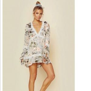 NWOT for love and lemons  Luciana swing dress